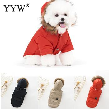 Dog Clothes Winter Warm Pet Dog'S Clothes Jacket Coat Puppy Ropa Perro Clothing Hoodies For Small Medium Dogs Puppy Outfit S-Xxl