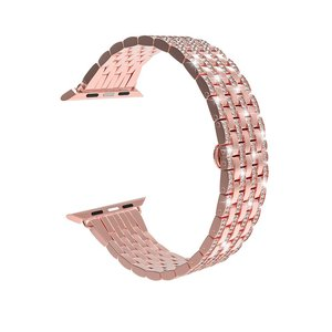 Image 3 - เพชรสำหรับApple Watch Band 40มม.38มม.Iwatch 42มม.44มม.สร้อยข้อมือสแตนเลสสำหรับชุดนาฬิกาApple 6 SE 5