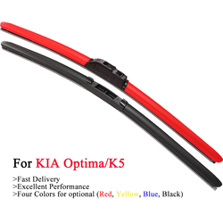 HESITE Colorful Car Wiper Blades For KIA Optima K5 IV JF SX SXL TF 3 4 Model Accessories 2012 2013 2014 2015 2016 2018 2017 2019