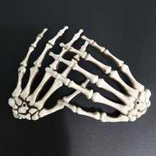 Halloween-Decoration Skeleton Hands Zombie Terror Fake Life-Size Plastic Party 1-Pair