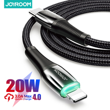 Joyroom 60 واط PD USB نوع C كابل آيفون 12 11 برو Xs ماكس شحن سريع شاحن ل ماك بوك باد نوع C USBC بيانات سلك الحبل