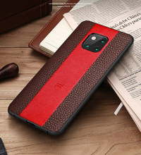 For Huawei Mate 20 X 10 9 Pro Luxury Cover Porsche Case  Leather Business Phone