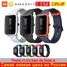 Küresel sürüm Huami Amazfit Bip Ultra hafif 32g spor Smartwatch WiFi Bluetooth GPS ile 45 gün bekleme Smartwatch
