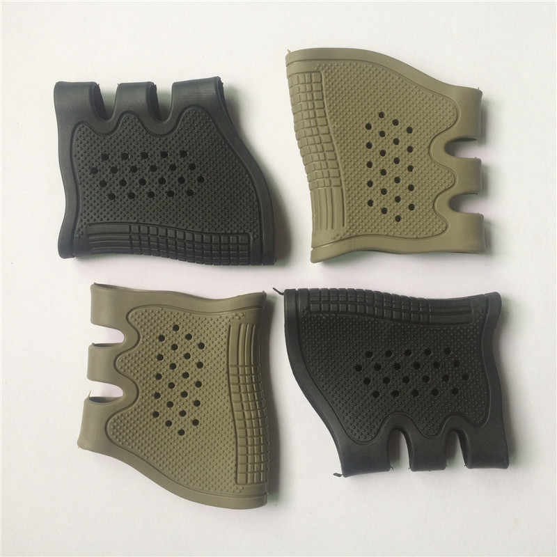 Gun Glock Holster Handgun Sleeve Cover Tactical Rubber Pistol Grip Glove Protect Anti-Slip Airsoft Hunting Accessories