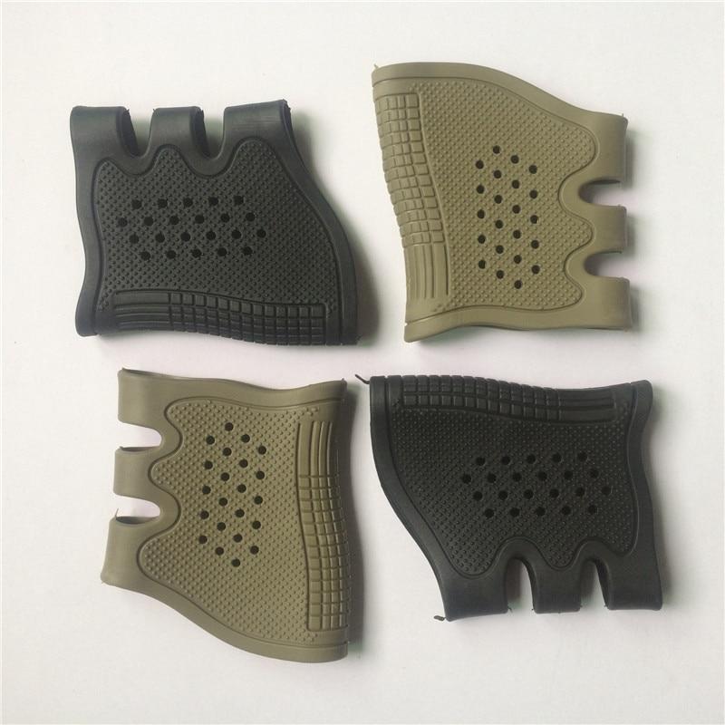 Gun Glock Holster Handgun Sleeve Cover Tactical Rubber Pistol Grip Glove Protect Anti-Slip Airsoft Hunting Accessories