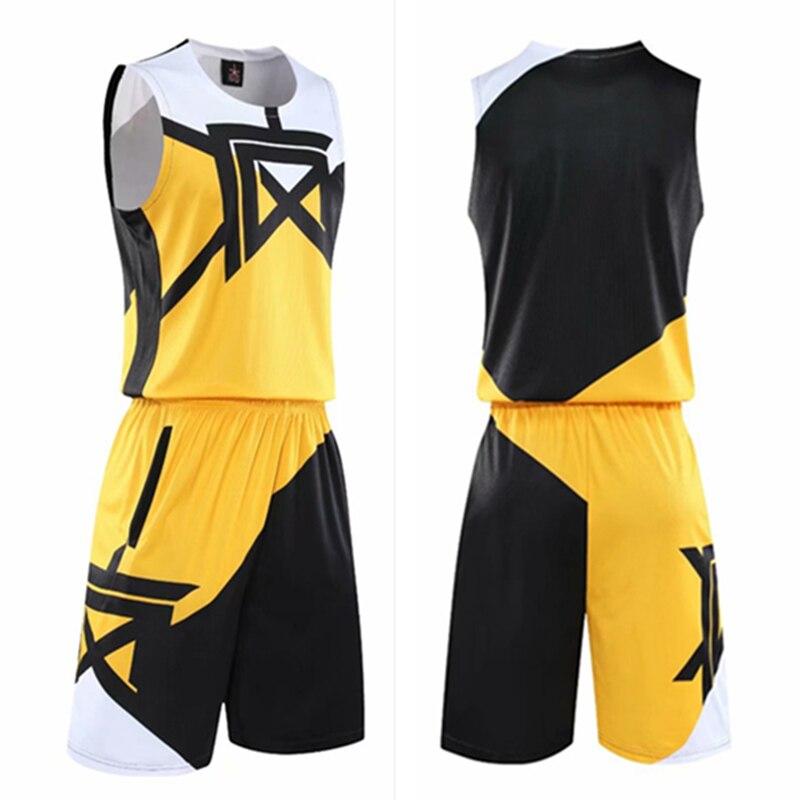 I bambini di Età di Basket Maglie Bambino Vestito di Uomini Uniforme di Basket Sport Kit Camicette Shorts Set Cinese Stampato Usura di Formazione Custom