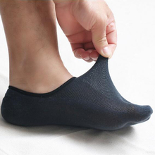 1 Pair Male Split 2 Toes Socks Flop Tabi Sports Anklets Dark Gary