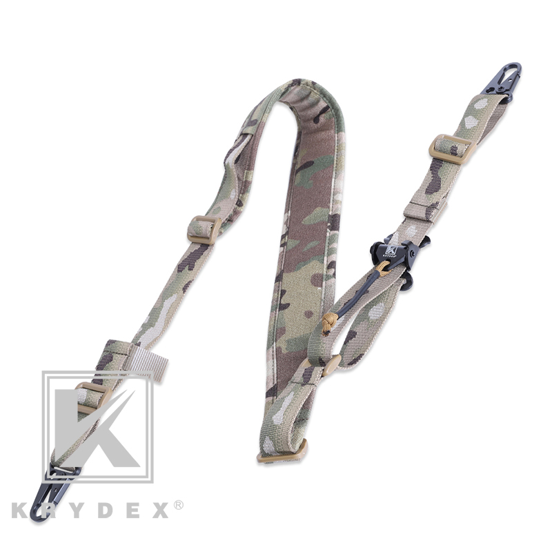 KRYDEX Tactical Rifle Sling Removable 2 Point / 1 Point 2.25