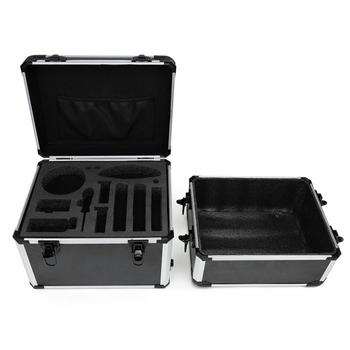 Portable Dual-layer Suitcase Storage Case Waterproof Protective Box for DJI RoboMaster S1 Intelligent Educational Robot
