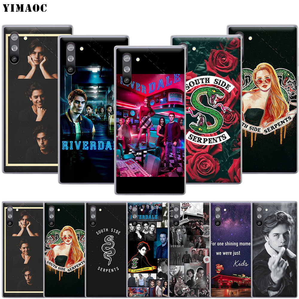 YIMAOC Riverdale Cole Sprouse Case for Samsung Galaxy S10 S9 S8 S7 Plus A70 A60 A50 A40 A30 A20 A10 A50S A30S A20S