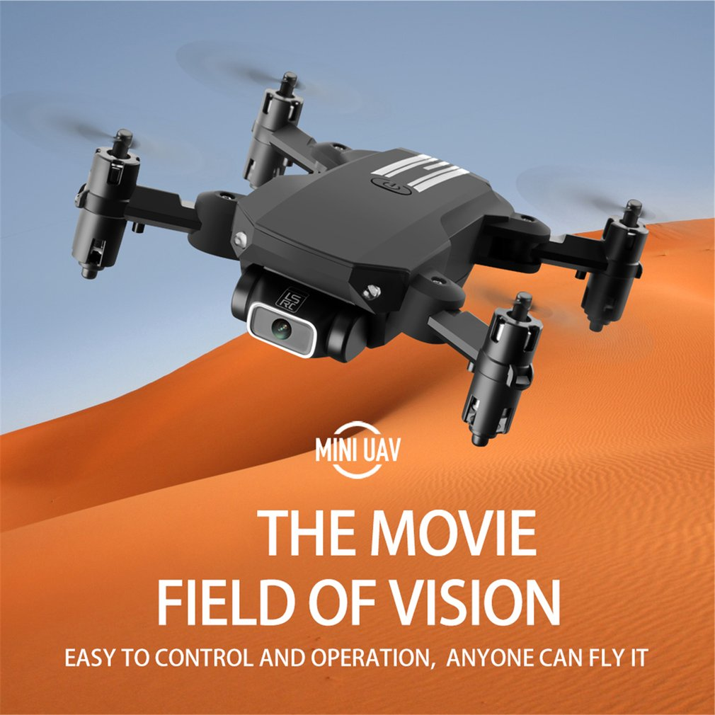 Drone Mini Ls-Min Hd 4K Aerial Photography 1080P Pixel Four-Axis Aircraft Air Pressure Fixed Height Remote Control Aircraft Toy