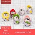 Weihnachten Geschenk Kreative Schöne Puppe Wollfilz Handwerk DIY Nicht Fertig Pinguin Gesetzt Handwerk Kit für Nadel Material Pack Heißer verkauf