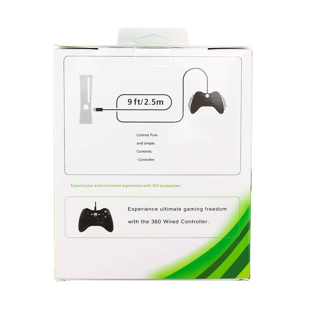 ZZHXON gamepad game controlller USB Wired Gamepad for Xbox 360 for Windows 7/8/10 Microsoft PC Controller Support for Steam Game