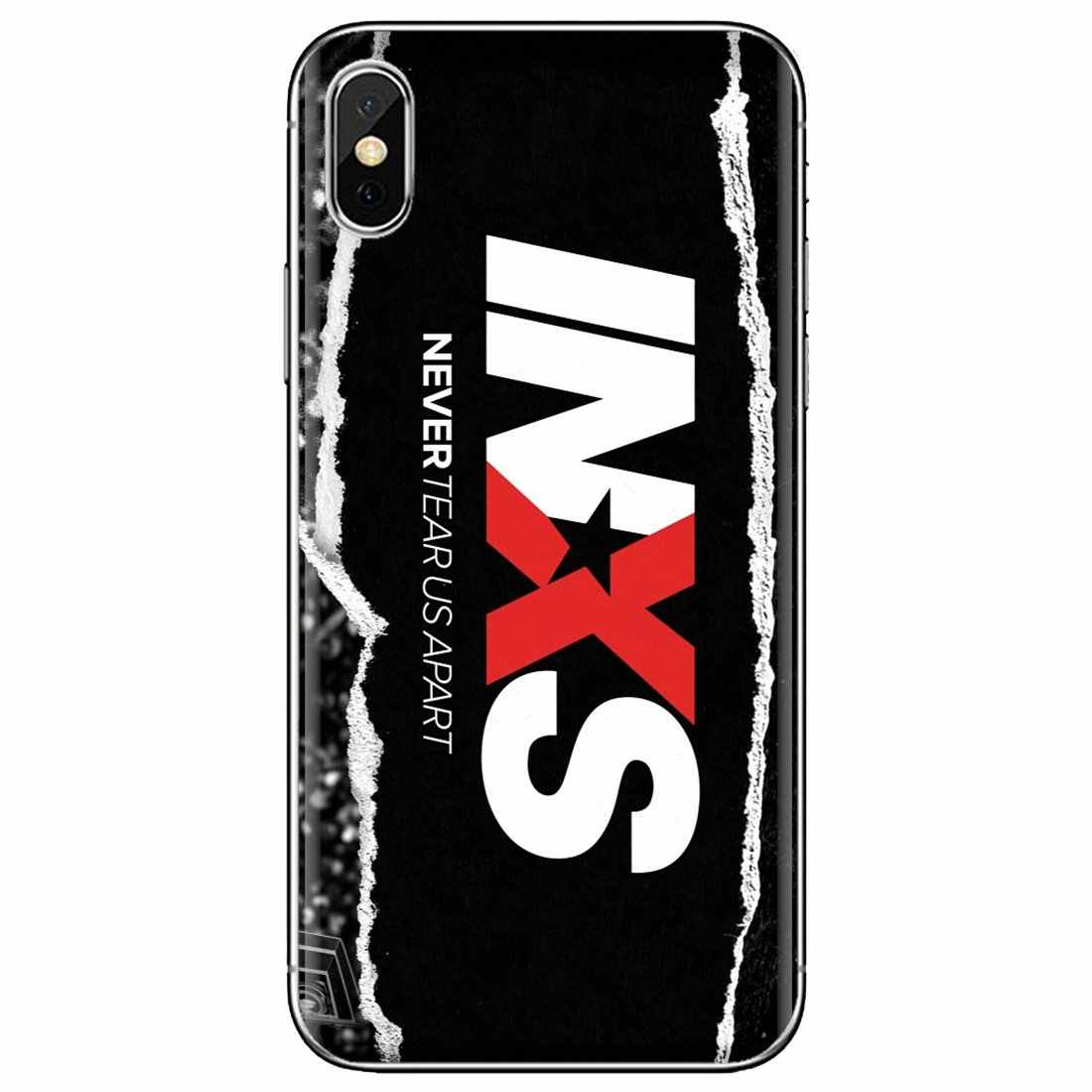 INXS avustralya Punk Pop FOTL zil Logo silikon kapak için BQ Aquaris C U2 a z a k a z a k a z a k a z a k a z a k X2 X Lite pro artı E4.5 M4.5 X5 E5 4G M 2017