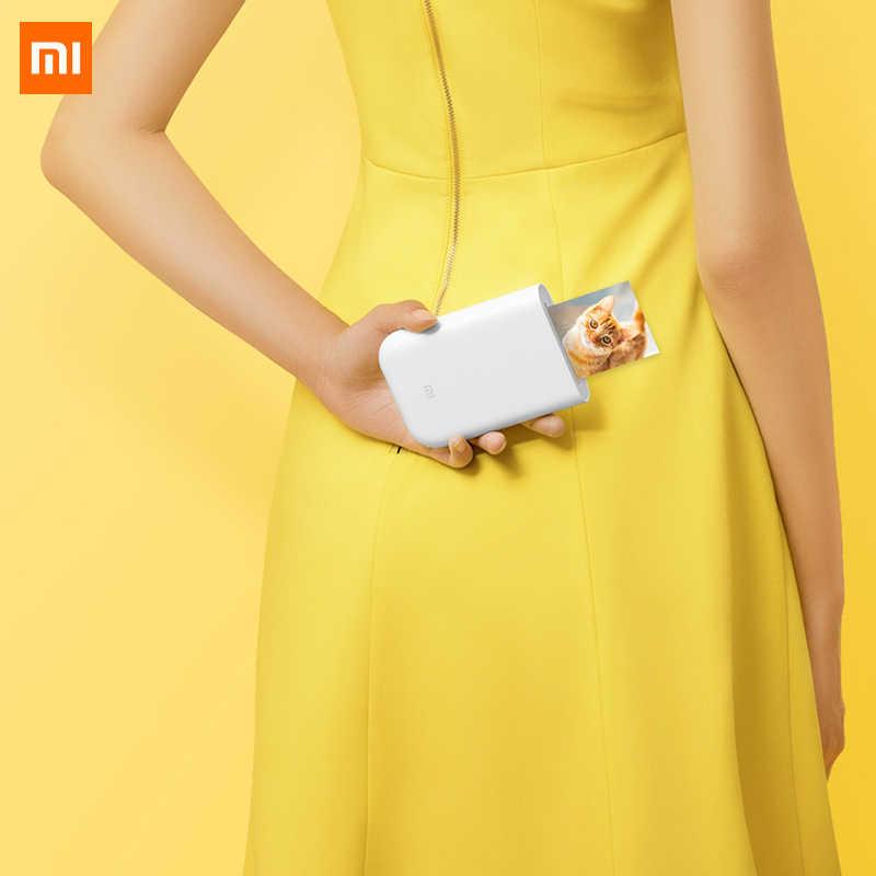 Xiaomi Mijia AR Máy In 300Dpi Di Động Chụp Ảnh Mini Bỏ Túi Với DIY Chia Sẻ 500MAh Hình Máy In Bỏ Túi Máy In Công Việc với Mijia