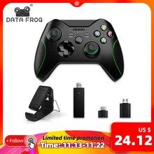 Contrôleur sans fil de données de grenouille 2.4G pour la Console de Xbox One pour PS3 pour des manettes de jeu de manette de téléphone dandroid pour le PC Win7/8/10