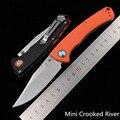 JUFULE 2020 мини 15080 Mark D2 Лезвие Нейлонового Волокна Ручка складной фруктов, универсальный нож Карманный Выживание Охота EDC инструмент нож для ке...