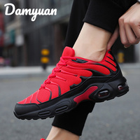 Damyuan 2019 Winter New Fashion Comfortable Air Cushion Men Sneakers Outdoor Walking Heightened Red Running Shoes Big Size 46
