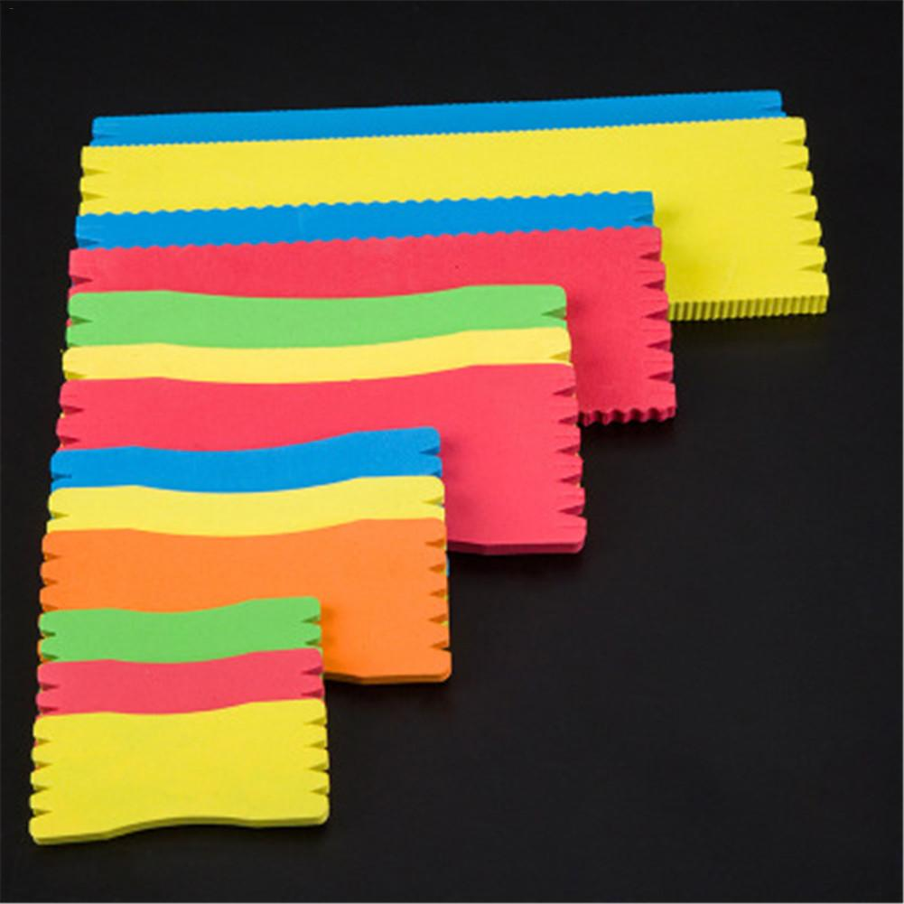 10PCS Foam Fishing Line Plate Storage Winding Line Board Wrapped Wire Leader Fishing Accessories Outdoor Fishing Tackle Gadgets