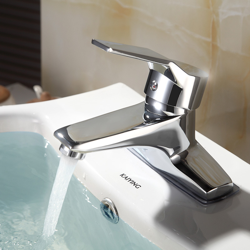 King Sanitary Ware Manufacturers Direct Selling Pedestal Basin Inter-platform Basin Wash Basin Hot And Cold Faucet Diplopore IEL