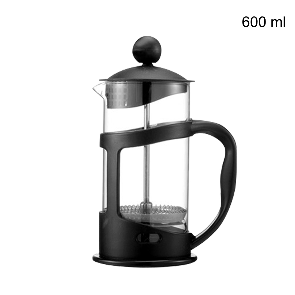 Durable Pour Over Kitchen Professional Cafetera French Presses Manual Heat Resistant Coffee Pot Tea Filter Cup Dripper Non Stick