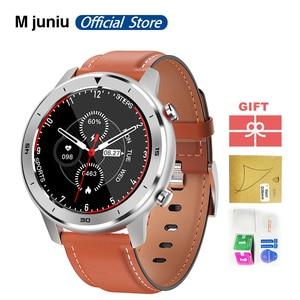 Image 1 - DT78 חכם שעון לגברים צמיד כושר פעילות Tracker לביש התקני Waterproof קצב לב צג שעון עבור אנדרואיד IOS