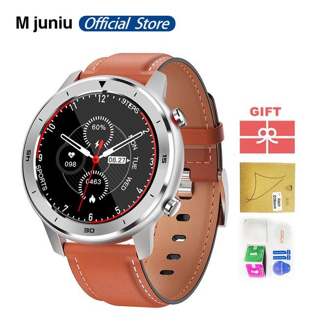 DT78 חכם שעון לגברים צמיד כושר פעילות Tracker לביש התקני Waterproof קצב לב צג שעון עבור אנדרואיד IOS