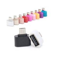 Convertidor Micro USB a Adaptador USB OTG 2,0 para tableta Pc a teclado de ratón Flash