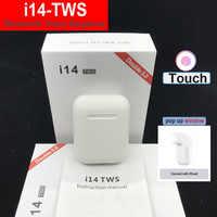 I12 i14 TWS PK i30 i20 tws di tocco di Bluetooth Auricolari Senza Fili Auricolare Pk i80 i40 LK TE9 i13 i10 per i9s i18 i20 i30 i15 i16 tws