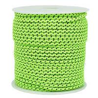 Cuerda reflectante de 4MM de diámetro de 50m para tienda cortavientos, cuerda de cuerda para Camping, tienda de campaña, cuerda reflectante para tiendas de campaña