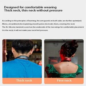 Умный массажер для шеи и плеч PGG расслабляющий Электрический рельеф шейного отдела позвоночника физиотерапия режим дистанционного управления