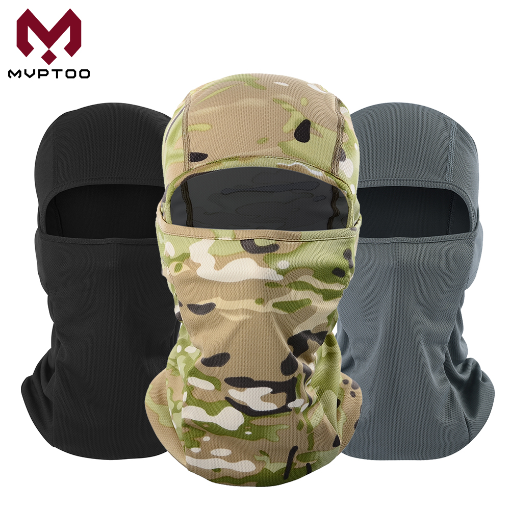 Breathable Motorcycle Balaclava Caps Tactical Military Moto Motocross Head Shield Helmet Liner Hood Biker Face Mask Men Women