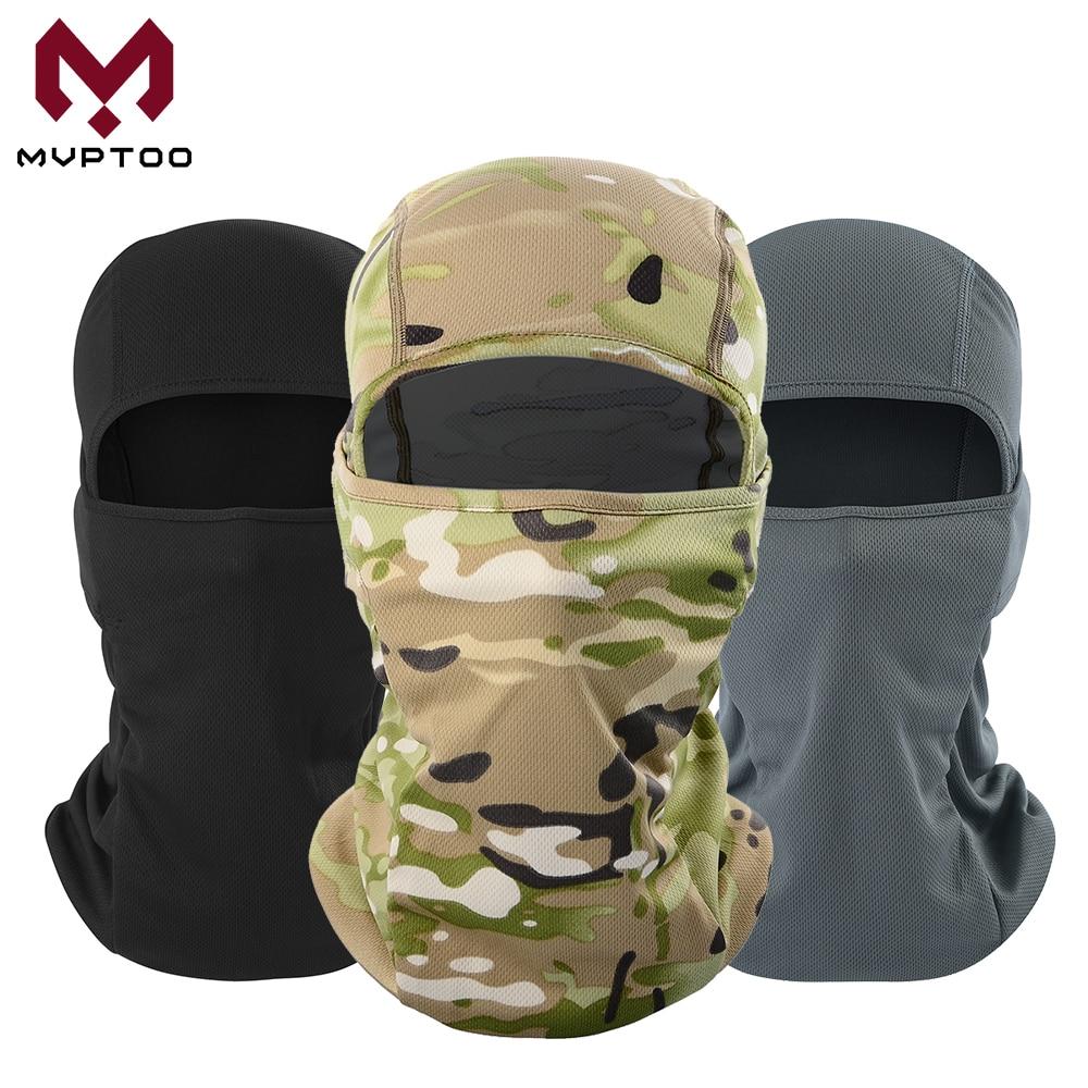 Breathable Motorcycle Balaclava Caps Tactical Military Moto Motocross Head Shield Helmet Liner Hood Biker Face Mask Men Women