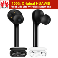Original HUAWEI FreeBuds Lite Wireless Earphone Bluetooth Micro USB headset Music Touch Double Tap with Mic Bluetooth Earphone