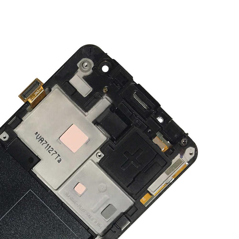 10 יח'\חבילה צגי Lcd עבור סמסונג גלקסי J2 ראש G532 SM-G532 SM-G532F G532F LCD תצוגת מסך מגע מסגרת Digitizer חיישן זכוכית