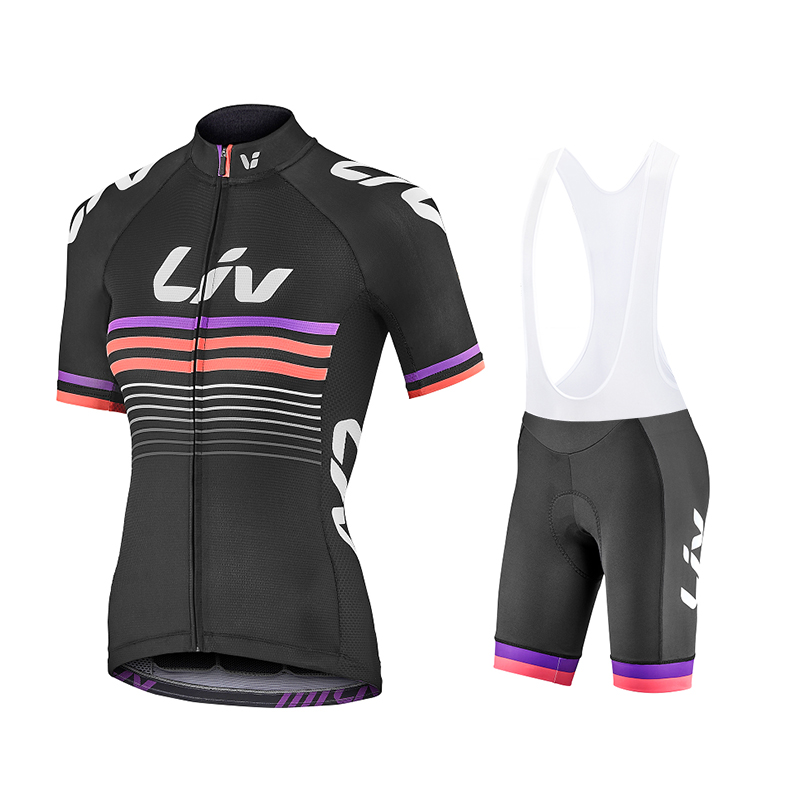 2019 Summer Team Liv Woman Cycling Jerseys Bike Clothes Quick-Dry Bib Sets Clothing Ropa Ciclismo Uniformes Maillot Sport Wear