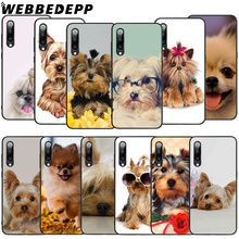 WEBBEDEPP Yorkshire Terrier Gog Soft TPU Case for Xiaomi Mi 6 8 A2 Lite 6 9 A1 Mix 2s Max 3 F1 9T A3 Pro CC9E Cover webbedepp yin yang koi fish soft tpu case for xiaomi mi 6 8 a2 lite 6 9 a1 mix 2s max 3 f1 9t a3 pro cc9e cover