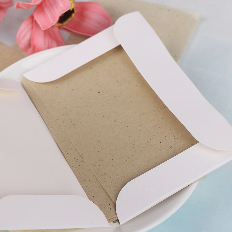 50 Sheet/bag Tissue Papers Green Tea Smell Makeup Cleansing Oil Absorbing Face Paper Absorb Blotting Facial Cleanser Face Tool