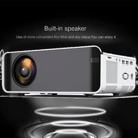 Mini LCD LED Projector Full HD 4K 1080p Projector 2300 Lumens Beamer Home Cinema Media player