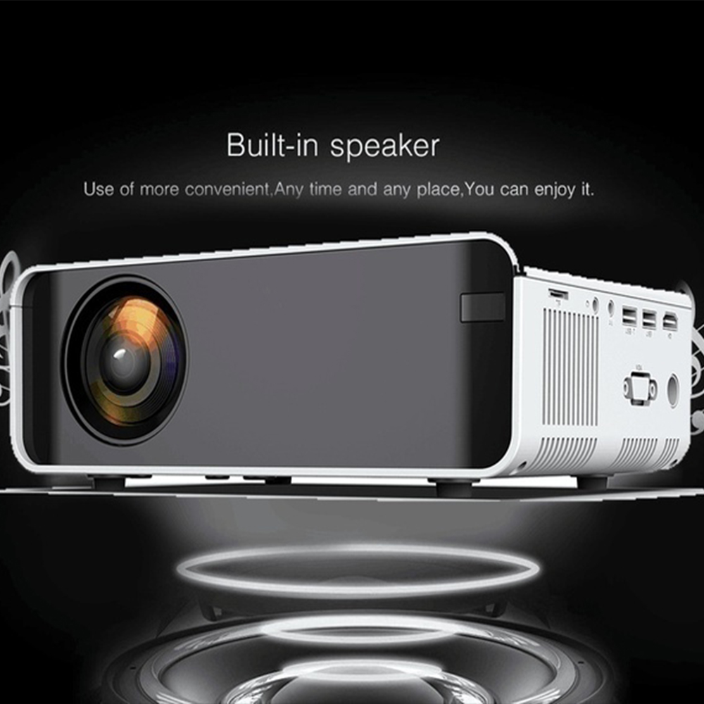 Mini LCD proyector LED Full HD 4K 1080p 2300 Lumens Beamer Cine en Casa reproductor de medios