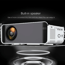 Mini LCD LED Projector Full HD 4K 1080p Projector 2300 Lumens Beamer Home Cinema Media player