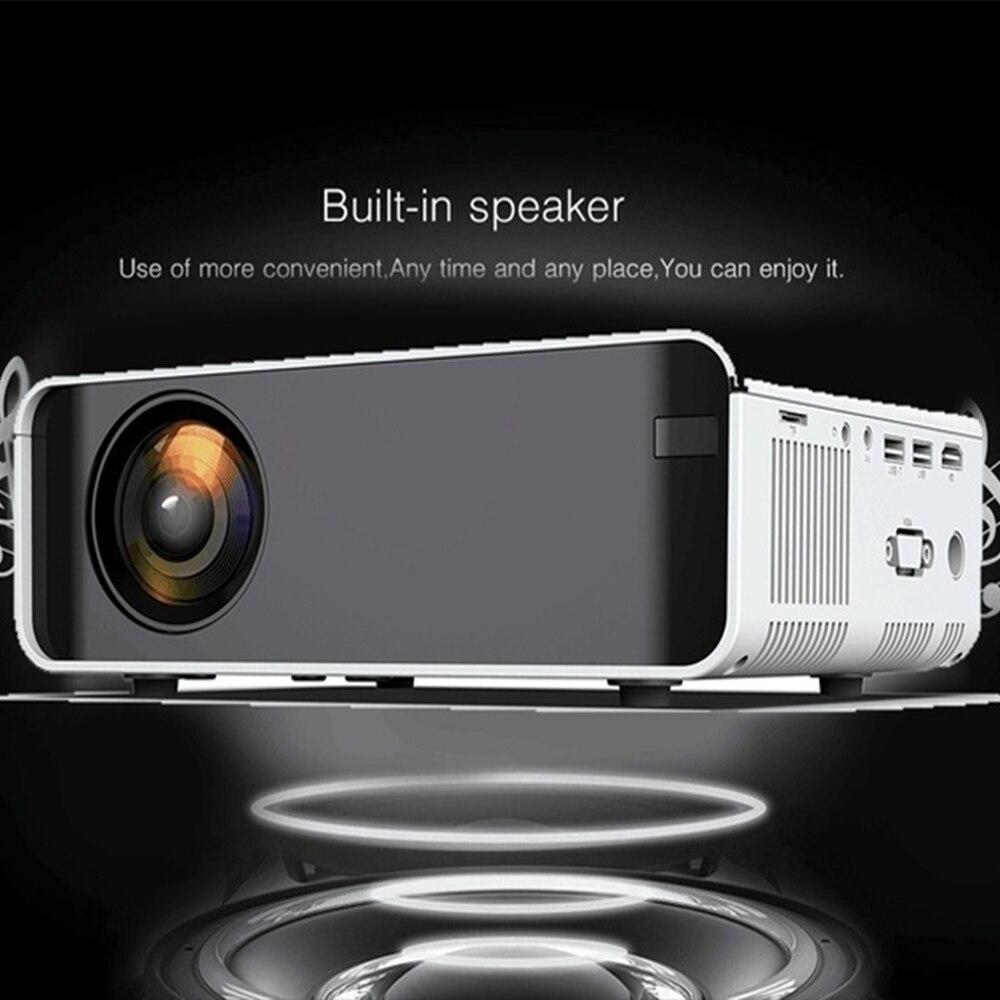 Mini LCD projecteur LED Full HD 4K 1080p projecteur 2300 Lumens projecteur Home cinéma lecteur multimédia