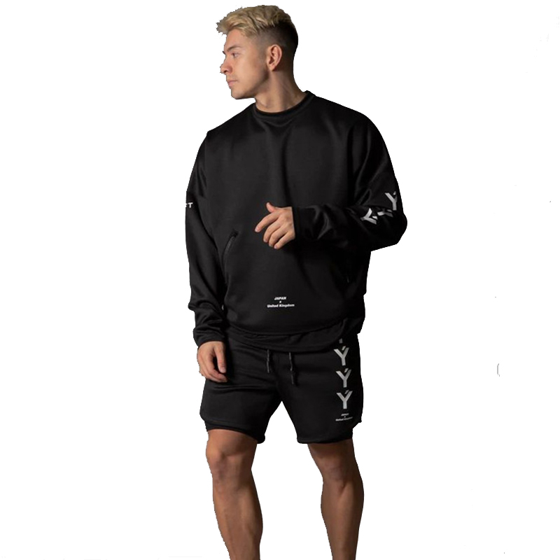 NEW Men's Running Shorts Mens 2 In 1 Sports Shorts Male Double-deck Quick Drying Sports Men Shorts Jogging  Shorts 2020