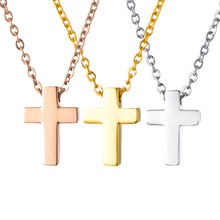 Новый крест цвет золото нержавеющая сталь распятие Библия молитва