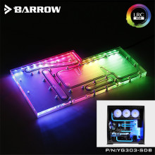 Distro-Plate Barrow Water-Cooling-Program AURA 3pin for WIN 303/305-Case LRC2.0 5V 5V