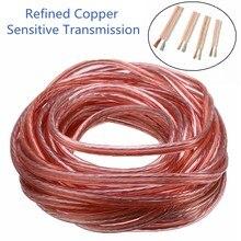 300 cabo de alto-falante do núcleo hi-fi fio de linha de áudio cabo de cobre sem oxigênio fio de alto-falante para ktv amplificador de teatro em casa sistema de dj