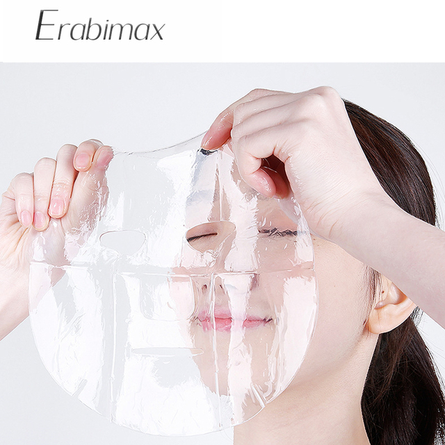【Buy 3 Get 3 Free】Erabimax Moisturizing Facial Mask Skin Care Face Mask Collage Hydrogel for Day Night Care Hydration Repair 5