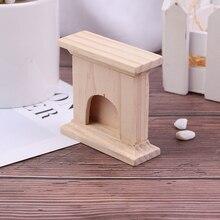 1:12 весы DIY деревянный ручной миниатюрный камин Кукольный дом декор мебель аксессуары Наборы мини куклы игрушечные дома подарок