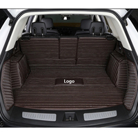custom Logo Car trunk mat for Suzuki grand vitara sx4 jimny swift Kizashi Alivio Auto ignis Splash S Cross vitara liana