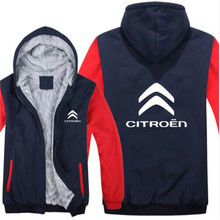 Citroen Hoodies Mans Jacket Winter High Quality Men Casual W